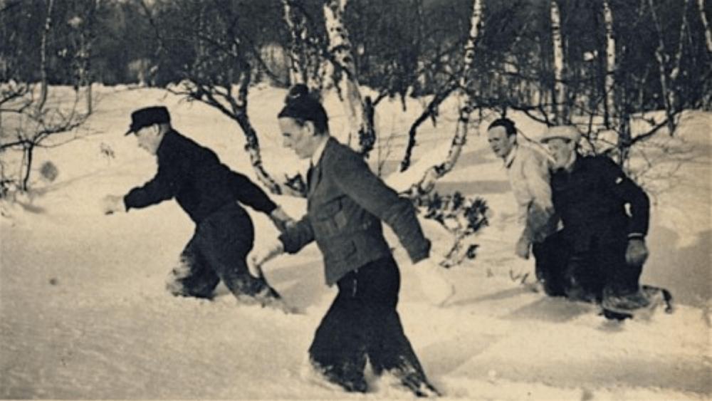 אימון פארטלק בשלג