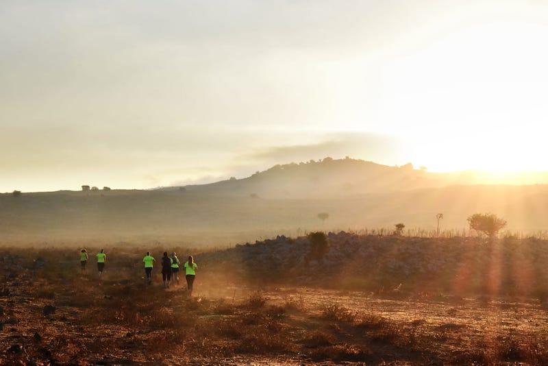 ריצה בגולן מקיבוץ אורטל