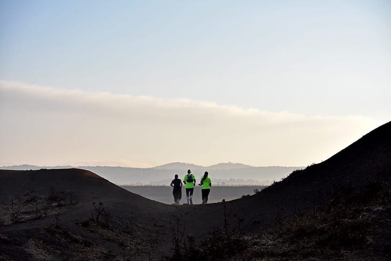 מסלול ריצה בגולן אורטל